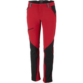 Columbia Triple Canyon Fall Hiking Pants Men Red Spark/Black